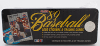1989 Fleer Baseball Glossy Factory Set of (672) Baseball Cards with Commemorative Collectors Tin including Ken Griffey Jr RC, Randy Johnson RC at PristineAuction.com