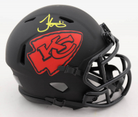 Tyreek Hill Signed Chiefs Eclipse Alternate Speed Mini Helmet (JSA COA) (See Description) at PristineAuction.com