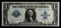 1923 $1 One Dollar Blue Seal Silver Certificate at PristineAuction.com