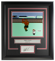 "Mike Tyson ""Punch-Out!!"" 14x18 Custom Framed Photo Display at PristineAuction.com"