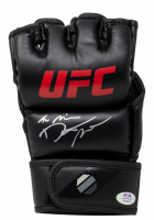 "Dustin ""The Diamond"" Poirier Signed UFC Glove (PSA COA) at PristineAuction.com"