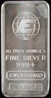 10 Troy Ounce Engelhard .999 Fine Silver Bullion Bar at PristineAuction.com