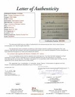Fritz Crisler & Richard C. Larkins Signed University of Michigan & Ohio State Contract (JSA LOA) at PristineAuction.com