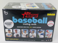 2020 Topps Heritage Baseball Blaster Box of (8) Packs at PristineAuction.com