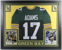 Davante Adams Signed 35x43 Custom Framed Jersey (JSA COA) (See Description) at PristineAuction.com