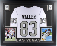 Darren Waller Signed 35x43 Custom Framed Jersey (Beckett COA) at PristineAuction.com