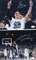 Lot of (2) Signed Villanova Wildcats 8x10 Photos with Ryan Arcidiacono & Kris Jenkins (JSA COA) at PristineAuction.com