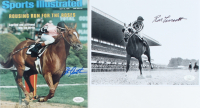 Lot of (2) Signed Jockey 8x10 Photos with Ron Turcotte & Steve Cauthen (JSA COA) at PristineAuction.com