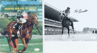 "Lot of (2) Signed Jockey 8x10 Photos with Ron Turcotte & Steve Cauthen Inscribed ""78 Triple Crown"" (JSA COA) at PristineAuction.com"