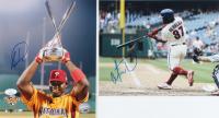 Lot of (2) Signed Phillies 8x10 Photos with Ryan Howard & Odubel Herrera (JSA COA) at PristineAuction.com
