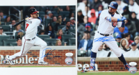 Lot of (2) Baseball Signed 8x10 Photos with Dansby Swanson & Kyle Schwarber (JSA COA) at PristineAuction.com