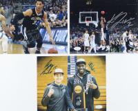"""Lot of (3) Signed Villanova Wildcats 8x10 Photos with Ryan Arcidiacono, Kris Jenkins, Josh Hart, Daniel Ochefu Inscribed """"2016 NCAA Champs"""" (JSA COA) at PristineAuction.com"""