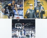 Lot of (3) Signed Villanova Wildcats 8x10 Photos with Ryan Arcidiacono, Kris Jenkins, Josh Hart, Daniel Ochefu (JSA COA) at PristineAuction.com