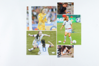Lot of (3) Team USA Signed 8x10 Photo with Rose Lavelle, Alyssa Naeher, & Heather Mitts (JSA COA) at PristineAuction.com