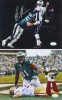 Lot of (2) Signed Eagles 8x10 Photos with Brandon Graham & Fletcher Cox (JSA COA) at PristineAuction.com