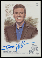 James Holzhauer 2019 Topps Allen and Ginter Autographs #FSAJH at PristineAuction.com