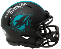 Jason Taylor Signed Dolphins Eclipse Alternate Speed Mini Helmet (JSA COA) at PristineAuction.com
