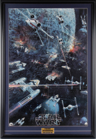 """Star Wars"" 25x36 Original 1977 Promotional Poster Display at PristineAuction.com"