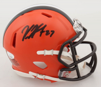 Kareem Hunt Signed Browns Speed Mini Helmet (JSA COA) at PristineAuction.com