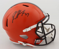 Kareem Hunt Signed Browns Full-Size Speed Helmet (JSA COA) (See Description) at PristineAuction.com