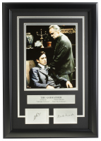 "Al Pacino & Marlon Brando ""The Godfather"" 16x19 Custom Framed Photo Display at PristineAuction.com"