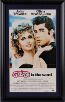 """Grease"" 15x23 Custom Framed Movie Poster Display (See Description) at PristineAuction.com"