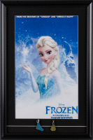 """Frozen"" 15x22 Custom Framed Movie Poster Display with (2) Pins at PristineAuction.com"