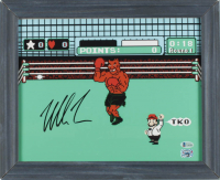 "Mike Tyson Signed ""Punch-Out!!"" 13.5x16.5 Custom Framed Print Display (Beckett COA & Fiterman Sports Hologram) (See Description) at PristineAuction.com"