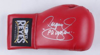 """Manny Pacquiao Signed Reyes Boxing Glove Inscribed """"Pacman"""" (Beckett COA) at PristineAuction.com"""
