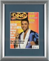 "Oscar De La Hoya Signed 13x16 Custom Framed Photo Display Inscribed ""'96"" (PSA COA) at PristineAuction.com"