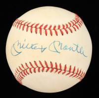 Mickey Mantle Signed OAL Baseball (PSA LOA) (See Description) at PristineAuction.com