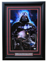 "Greg Horn Signed Star Wars ""Darth Vader"" 20x26 Custom Framed Lithograph Display (JSA COA) at PristineAuction.com"