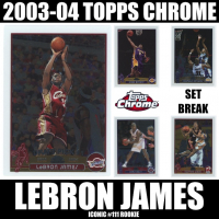 Mystery Ink 2003-04 Topps Chrome Set Break! Iconic Lebron James Rookie Card! 3 Cards Per Pack at PristineAuction.com