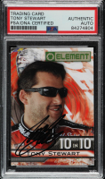 Tony Stewart Signed 2010 Element 10 in '10 #TT2 (PSA Encapsulated) at PristineAuction.com