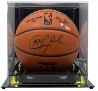 Chris Paul Signed NBA Game Ball Series Basketball with Display Case (Fanatics Hologram) at PristineAuction.com