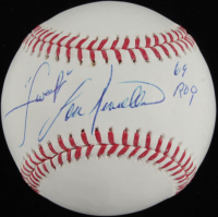 "Lou Piniella Signed OML Baseball Inscribed ""Sweet"" & ""69 ROY"" (JSA Hologram & Leaf Hologram) at PristineAuction.com"