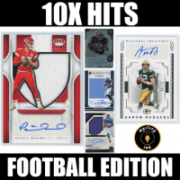 Mystery Ink 10X Hits Football Edition Mystery Box - 10 Autos / Jerseys / Relics Cards in Every Pack! at PristineAuction.com