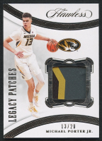Michael Porter Jr. 2020-21 Panini Flawless Collegiate Legacy Patches #30 - #13/20 at PristineAuction.com