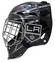 Jonathan Quick Signed Kings Full-Size Hockey Goalie Mask (Fanatics Hologram) at PristineAuction.com