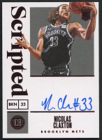 Nicolas Claxton 2019-20 Panini Encased Red #147 Scripted Autograph RC #02/25 at PristineAuction.com