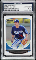 Corey Seager Signed 2013 Bowman Draft Top Prospects #TP42 (PSA Encapsulated) at PristineAuction.com