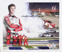Kasey Kahne Signed NASCAR #9 7x9 Photo (Fanatics Hologram & Mounted Memories Hologram) at PristineAuction.com
