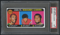 1970-71 Topps #5 Elvin Hayes / Wes Unseld / Lew Alcindor LL (PSA 7) at PristineAuction.com