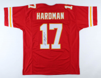 Mecole Hardman Signed Jersey (JSA COA) at PristineAuction.com