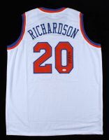 Micheal Ray Richardson Signed Jersey (JSA COA) at PristineAuction.com