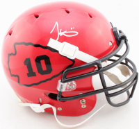Tyreek Hill Signed Full-Size Authentic On-Field Helmet (JSA COA) at PristineAuction.com