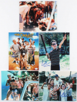 """Lot of (5) Chauncey Leopardi Signed """"The Sandlot"""" 8x10 Photos Inscribed """"Squints"""" (Hollywood Collectibles Hologram) at PristineAuction.com"""
