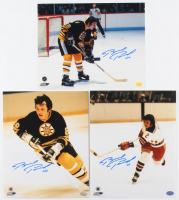Lot of (3) Brad Park Signed 8x10 Photos (Hollywood Collectibles Hologram) at PristineAuction.com