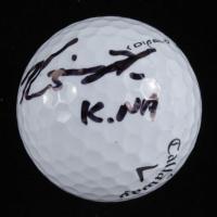 Kevin Na Signed Callaway Golf Ball (Beckett COA) at PristineAuction.com