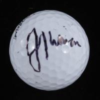 Justin Thomas Signed Titleist 3 Golf Ball (Beckett COA) at PristineAuction.com